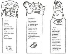 Menta Más Chocolate - RECURSOS y ACTIVIDADES PARA EDUCACIÓN INFANTIL: MARCAPAGINAS día del LIBRO Corner Bookmarks, Fun Worksheets, Teaching Spanish, Coloring Pages, How To Plan, Education, Reading, Words, Dual Language