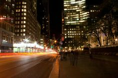 bryant park at night | my nyc photography