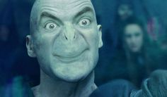 Mr. Bean As Lord Voldemort