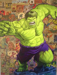 The Incredible Hulk by Randy Martinez