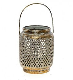 Lanterns provide an excellent light quality and a warm and enchanting radiance to your outdoor events. Explore our collection Metal Lanterns, Lanterns Decor, Outdoor Events, Home Living, Antique Gold, Vase, Antiques, Home Decor, Collection