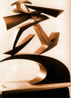 Dynamic of Boccioni's fist (c1914) - Giacomo Balla