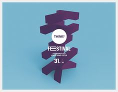"""Check out this @Behance project: """"TH!NK? Festival 2016"""" https://www.behance.net/gallery/43551145/THNK-Festival-2016"""