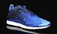Nike Free Inneva Woven - Obsidian/Deep Royal Blue