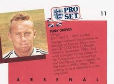 1990-91 Pro Set English League #11 Perry Groves Back