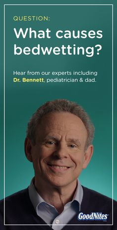 What causes bedwetting? Great question. Bedwetting is developmental, which means your child can't control it. Understanding the causes will help make it easier to manage, though. Click through to hear from our experts, like Dr. Bennett, on the causes of bedwetting.