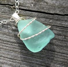 Keep a piece of the beach for yourself with sea glass jewelry.