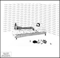"""Hélène PARIS """"Désertion"""" galerie 3e parallèle www.3eparallele.com"""