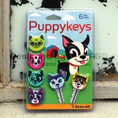 These six adorable pups are at your service when it comes to finding the key to your kennel!