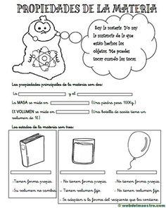 Propiedades de la materia para primaria - Recursos educativos y material didáctico para niños/as de Infantil y Primaria. Descarga Propiedades de la materia para primaria