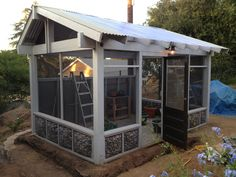 screen house gotta have one in the woods rustic landscape for rh pinterest com Make a Screen House Patio Screen House