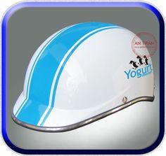 Mũ Bảo Hiểm Quảng Cáo Yogurt Penguins ATN-KH95  http://mubaohiemantran.com/quang-cao/mu-bao-hiem-yogurt-penguins-atn-kh95-helmet
