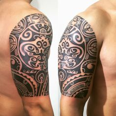 Maori Tattoo Polinesyan
