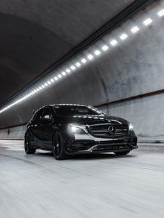 Black Mercedes Benz, Mercedes Benz C63 Amg, Mercedes A Class, A Class Amg, Amg Car, Sports Car Wallpaper, Top Luxury Cars, Motor Car, Dream Cars