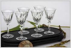 St Louis Provence 6 verres à vin n°4 neufs - Bordeaux wine glasses new