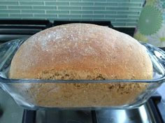 100% whole grain wheat bread recipe. The recipe is super easy to follow and the reviews on it are amazing! I will definitely be making this.