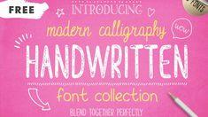 5 Free Handwritten Fonts