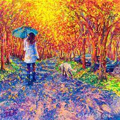 Paintings by Iris Scott