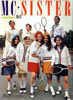 White Knee High Socks, Saddle Oxfords, Sailor Dress, Fashion Catalogue, Japanese Street Fashion, 1960s Fashion, Vintage Outfits, Street Style, Magazine