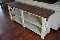 Console Table | Do It Yourself Home Projects from Ana White