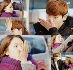"""According to reports, episode 17 of """"Pinocchio"""" achieved the highest rating of 18.25% during the """"Forehead Kiss"""" exchange between Dalpo and Inha.  Our Darling Couple FTW!  Cr: pienocchio"""