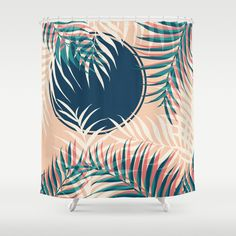 Tropical Sun #society6 #decor #buyart Shower Curtain