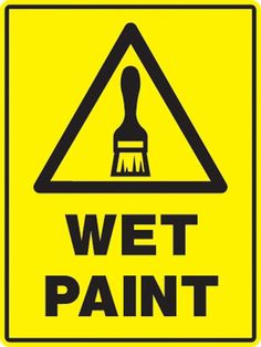 Printable Pdf Wet Paint Sign Printable Pdf Business