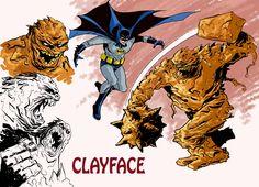 Batman and Clayface