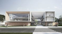 Cultural Architecture, Office Building Architecture, University Architecture, Education Architecture, Architecture Visualization, Commercial Architecture, Facade Architecture, Design Exterior, Facade Design