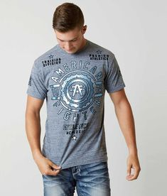 American Fighter Shirts, Dye T Shirt, Shirt Sleeves, Looks Great, T Shirts For Women, Navy, Men's Shirts, Mens Tops, How To Wear