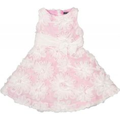 This beautiful David Charles dress twirls, has beautiful accents, and has great texture. Rent it from www.borrowbabycouture.com for $57.45