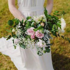 Claire's rose bouquet. Photo Sara Lejon