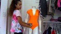 Aprenda a modelagem de  body sexy Alana Santos Blogger