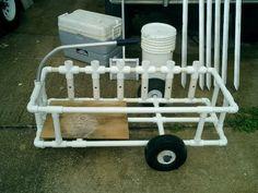 Rough Beach Cart Plans