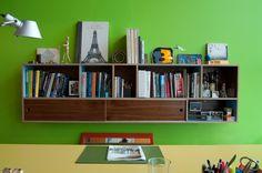 Boone Office Bookshelf
