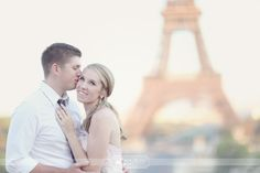 Engagement Session at the Eiffel Tower