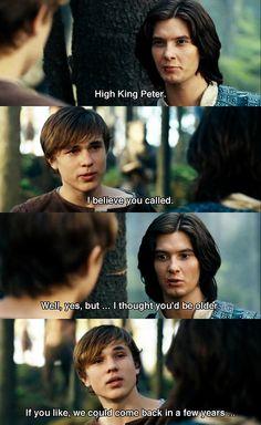 The Chronicles of Narnia: Prince Caspian jajajaja a few years :)