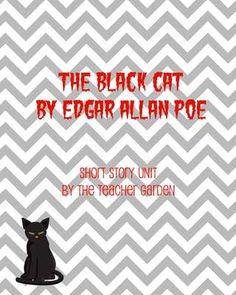 The Black Cat (by Edgar Allan Poe) Questions + Key from Innovate. Motivate. Educate. on TeachersNotebook.com -  (8 pages)