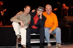 TMN Events co-founders, Pat Moloney and Scott Winegar, with blues musician John Nemeth.