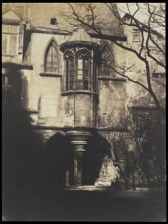 Gustave Le Gray (French, 1820–1884). Hotel de Cluny, Paris, c. 1851. The Metropolitan Museum of Art, New York.