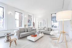 El interiorismo de un apartamento en el Flatiron building, Nueva York.