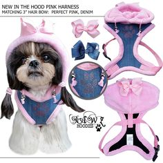 New in the Hood Pink Harness