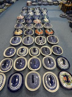 Boleslawiec Poland - Pottery Blue Pottery, Ceramic Pottery, Earthenware, Stoneware, Dining Ware, Polish Pottery, Vintage Dishes, China Patterns, White Ceramics