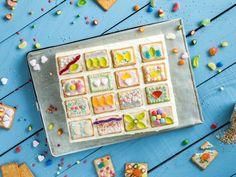 Für strahlende Kinderaugen: Butterkekskuchen vom Blech