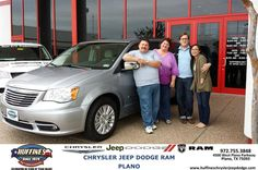 #HappyAnniversary to John Schulz on your 2013 #Chrysler #Town & Country from Ruben Perez at Huffines Chrysler Jeep Dodge RAM Plano!
