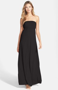 Hard+Tail+Long+Strapless+Dress+available+at+#Nordstrom