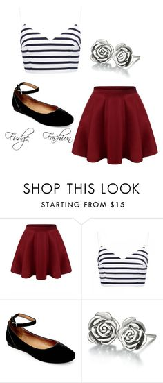 """""""Ahhhh"""" by fudgefashion63462 on Polyvore featuring Forever New, Steve Madden and Chamilia"""