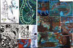 Art Portfolio, Boards, Portrait, Artwork, Student, Painting, Education, Planks, Work Of Art