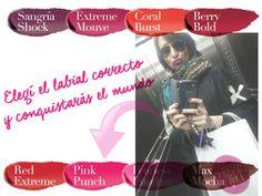 Vestite-con-Estilo-AVON-labiales-SS16 Coral, Ss16, Avon, Pink, Movie Posters, Makeup Lips, Beauty, Style, Film Poster