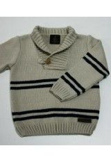 Sanmar jersey punto 241705 - All Hair Styles Knit Baby Sweaters, Boys Sweaters, Crochet Baby Clothes, Cute Baby Clothes, Knitting For Kids, Baby Knitting, Knitting Gauge, Sweater Design, Striped Knit